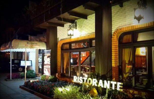 buffet sopas ritorna restaurante exterior