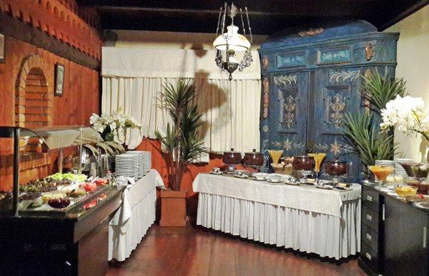 ritorna restaurante mesas interior