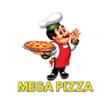 Logo Mega Pizza